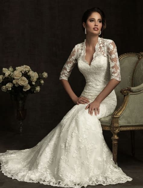 beautiful wedding dresses with lace 21 gorgeous lace wedding dresses