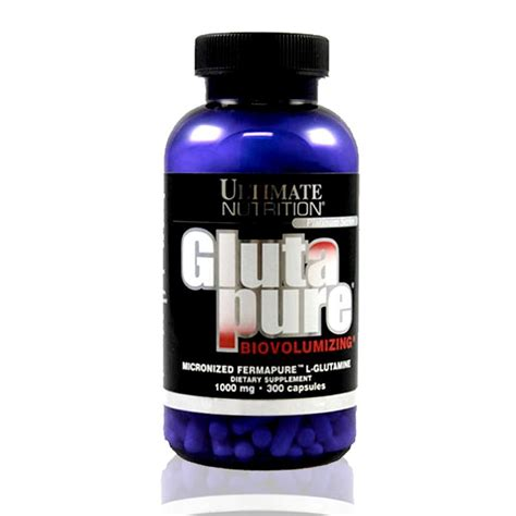 Obat Fitnes Glutapure Ultimate Nutrition Suplemen Obat Fitnes Amino