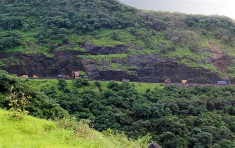 ghat section stock pictures views from the mumbai pune expressway ghat