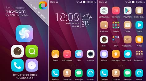 emui new themes newborn emui theme for 360 launcher by duophased on deviantart