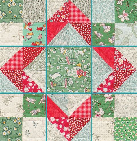 9 Patch Quilt Block Pattern by One Quilt Block So Many Possibilities Day 2 Nine Patch