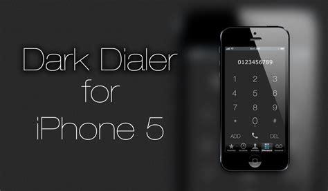 themes dialer iphone dark dialer iphone 5 by alltagsschreck de on deviantart