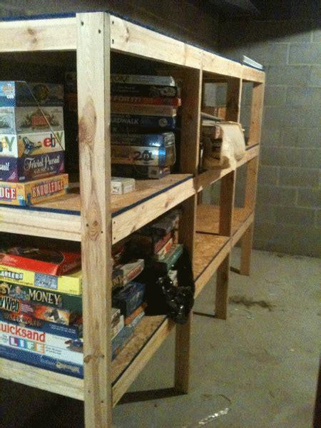 wooden storage shelves plans plans diy  building