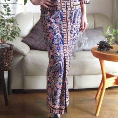 Preloved Atasan Blouse Batik singapore stewardess kebaya batik airlines themed dnd gifts souvenirs