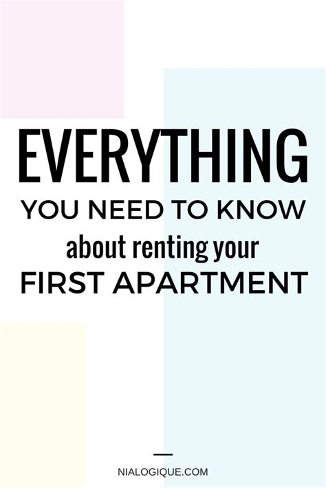 7 things every apartment renter should know quizzle com blog everything you need to know about renting your first