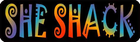 she shack 10in x 3in she shack girls room magnet magnetic bedroom