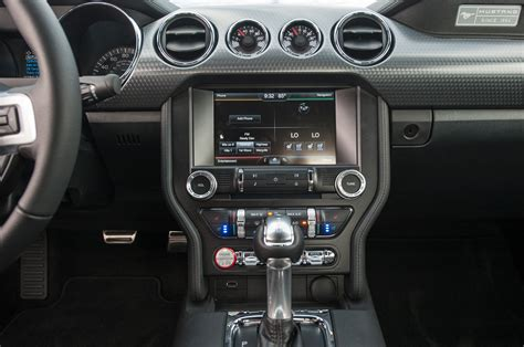 2015 ford mustang ecoboost interior center stack photo 6