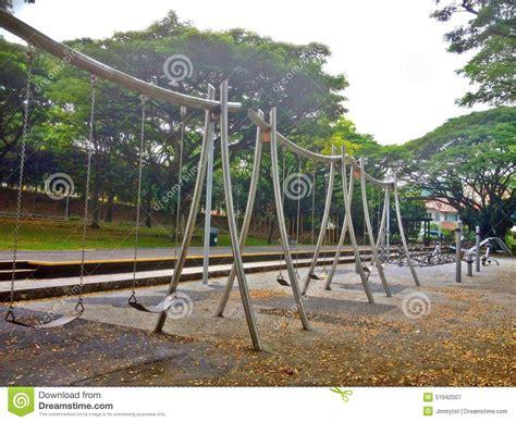 swing singapore swings in playground stock photo image 51942007