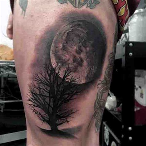 cool moon tattoos 90 moon tattoos for ship of light on the sea of