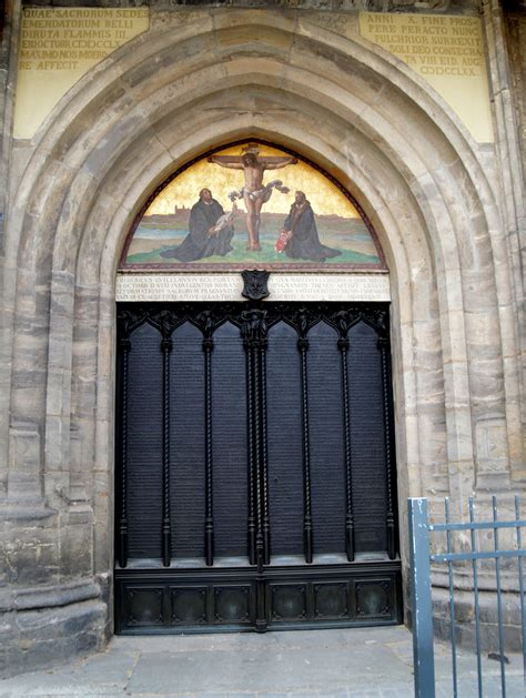 Wittenberg Door by Why Martin Luther Matters To United Methodists The