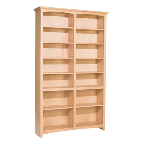 48 inch wide bookcase whittier wood mckenzie bookcase collection 48 quot wide