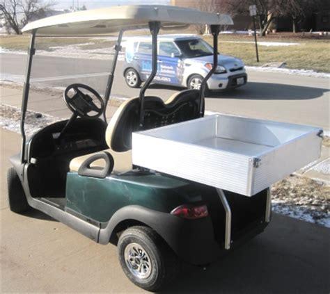 golf cart bed 48v club car precedent utility golf cart with aluminum