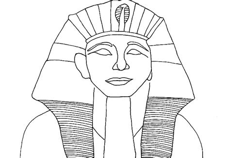 pharaoh crown template ancient colouring sheets pharaoh coloring page a