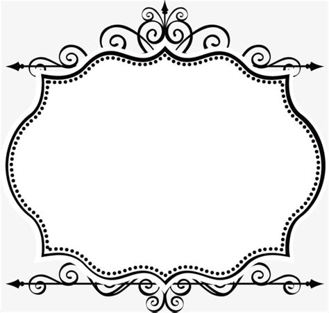 Wedding Borders Vector by Simple Borders Vector Border Vector Vector Ancient Box