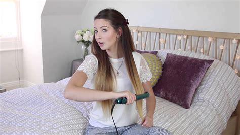 7 days of smooth straightened hair by zoella