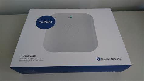 review cambium cnpilot e400 managed access point nz