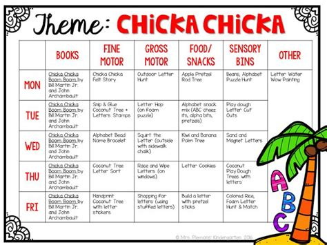 best 20 chicka chicka ideas on chicka chicka