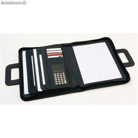 et la porte secr礙te en entier et en fran礑ais porte documents en polyester microfibre bloc et calculatrice