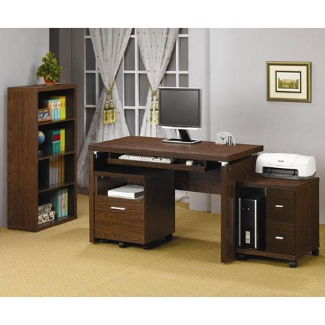 800831 coaster furniture peel oak home office desk