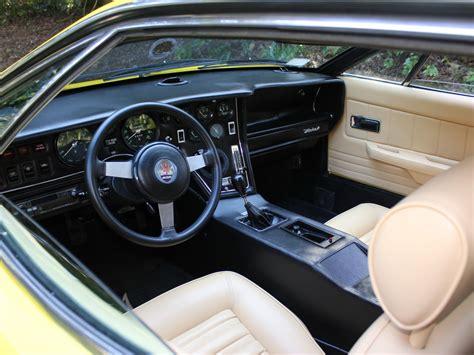 maserati merak interior 1976 maserati merak ss us spec car interiors
