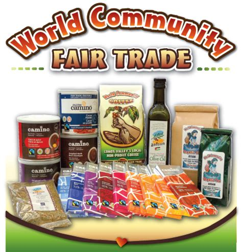 trading products fair trade products wc