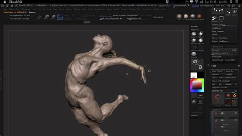 tutorial animacion zbrush c 243 mo posar un personaje en zbrush ejezeta
