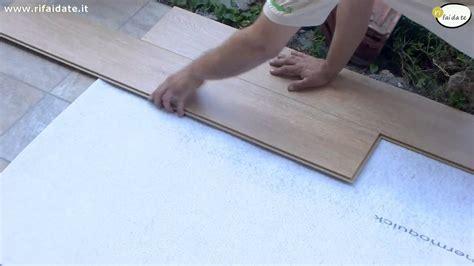 come montare pavimento laminato come posare parquet laminato
