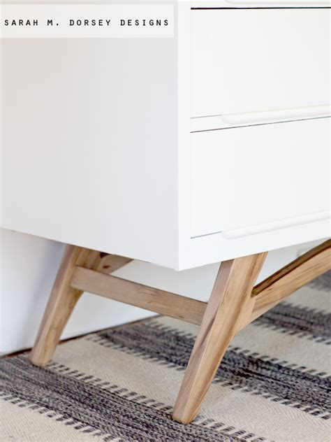 Adding Legs To A m dorsey designs adding legs to a mid century modern dresser how to