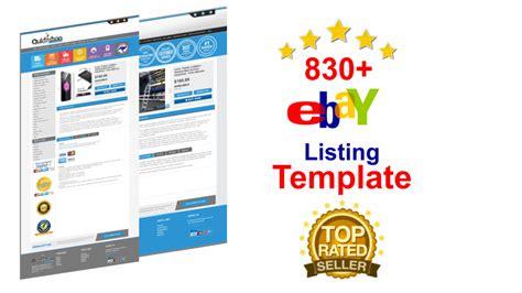 ebay listing template creator create amazing ebay listing template for 100 seoclerks