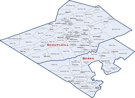 Schuylkill County Property Tax Records District Map Senator David Argall