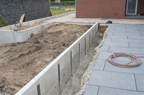 L Steine Aus Beton by Winkelst 252 Tzen L Steine Gartenbau Landschaftsbau