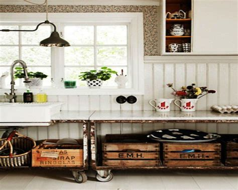 Antique Kitchen Decorating Ideas Vintage Kitchen Design Ideas Dgmagnets