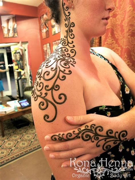 henna tattoo kona hawaii 50 best kona henna shoulders images on