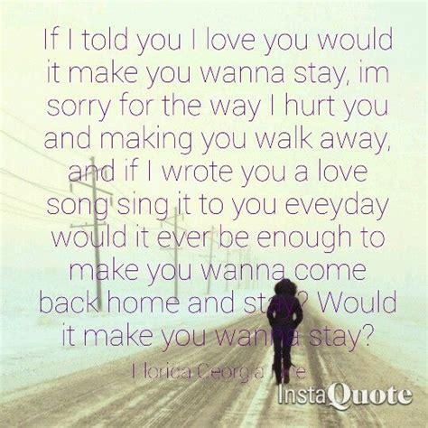 country music lyrics i love you joe stay florida georgia line quote lyrics love song country