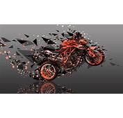 Moto KTM LC8 Austin Racing Side Super Abstract Angle Bike