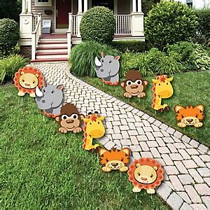 safari baby shower decorations funfari safari jungle baby shower decorations