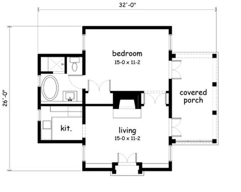 floor plans southern living garden cottage print southern living house plans