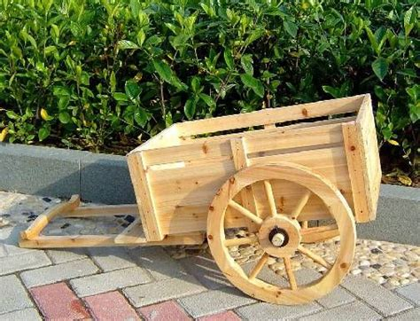 Wooden Cart Planter by 2 Wheel Cedar Wagon Planter Ceder Wood Cart Wooden Cart