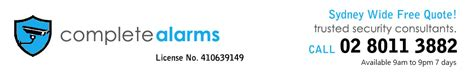 home alarm systems complete alarms sydney