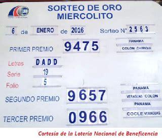 resultado de la loteria nacional 26 enero 2016 loteria nacional de panama sorteo del miercoles 6 de