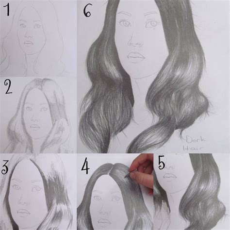 how to draw curly hair 12 steps with pictures wikihow how to draw hair step by step image guides