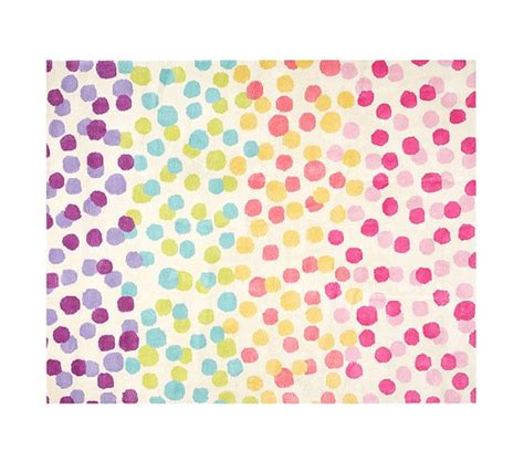 pottery barn kid rugs rainbow dot rug pottery barn