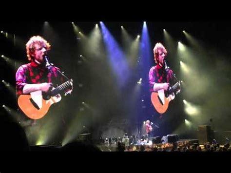 Ed Sheeran Xcel   ed sheeran concert xcel energy center st paul mn