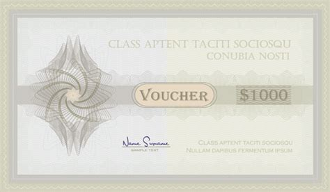 coupon certificate template diploma certificate template free vector 13 121