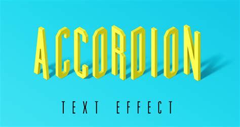 flat design text effect accordion psd text effect photoshop text effects pixeden