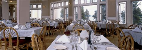 Lake Hotel Dining Room by Hotel Bars Restaurants In Yellowstone National Park