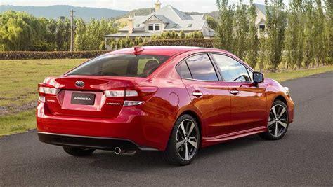 subaru sedan subaru impreza 2 0i s sedan 2017 review snapshot carsguide
