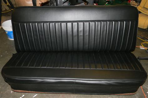 tuck roll upholstery 59 chevy apache truck seat covers