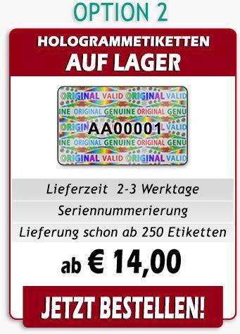 Etiketten Aufkleber Mit Logo by Herstellung Von Hologramm Etiketten Mit Ihrem Logo