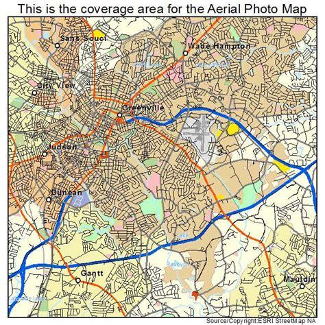 map of greenville carolina aerial photography map of greenville sc south carolina